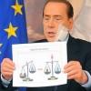 Berlusconi e la Giustizia, una contraddizione in termini