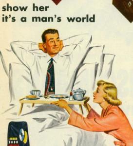 pubblicità maschilista 50's